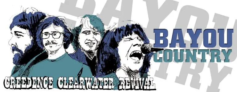 İlk albümün başarısının getirisi olarak 1968 yılında hızla ama etkileyici bir güzellikte kaydedilen Bayou Country, CCR'ın müzik dünyasındaki yerini sağlamlaştırırken diğer yandan Swamp Rock'ın daha görünür hale gelmesini de sağlaması açısından önemlidir. Swamp rock ayrımı ilk albüme oranla bu albümde kendini daha fazla hissettirir. Mississippi deltasında hayata geçen delta blues'un ardılı olarak da Swamp (bataklık) rock adını alması da espirili ve kaçınılmazdır.