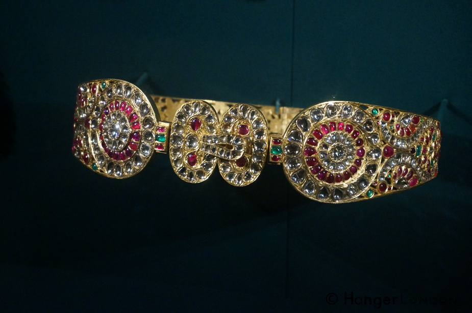 Waist Belt Gift for Queen Alexandra. Whilst their first stop in Bombay. A Gift from Marharaja of Mysore 1875