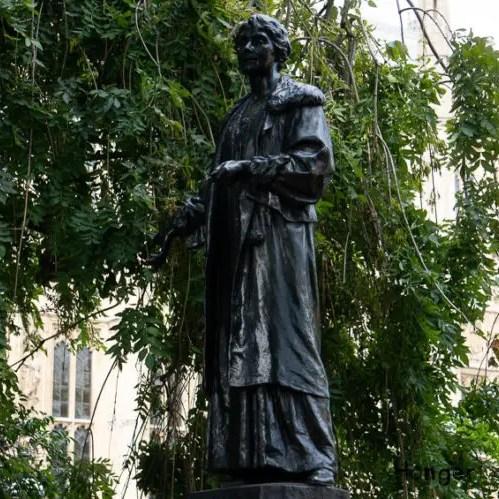 Emmeline Pankhurst Statue Victoria Tower Gardens London