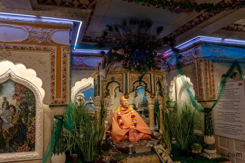 Founder of this Faith A. C. Bhaktivedanta Swami Prabhupada