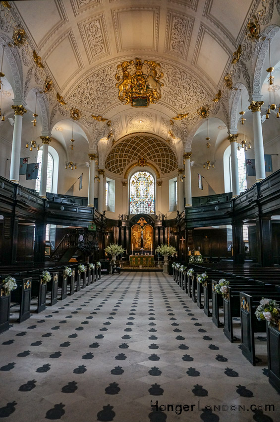 Central Church of the Royal Air Force St Clement Danes, Strand