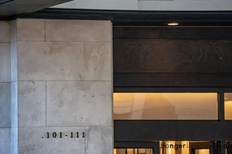 part of art deco building 99 kensington high st hosts Japan House London 101-111