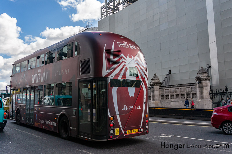 Spiderman design Bus 148 London
