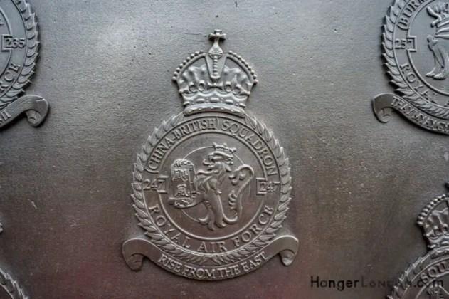 All Bronze RAF Squadron Badges 1