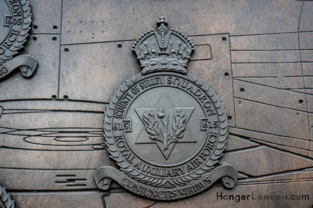 All Bronze RAF Squadron Badges 4