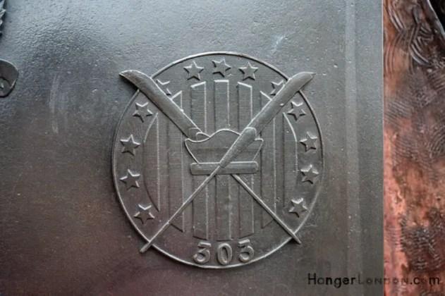 All Bronze RAF Squadron Badges 5
