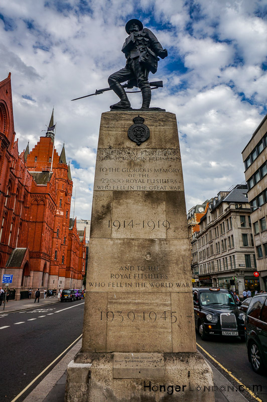 Holborn Royal Fusiliers Memorial