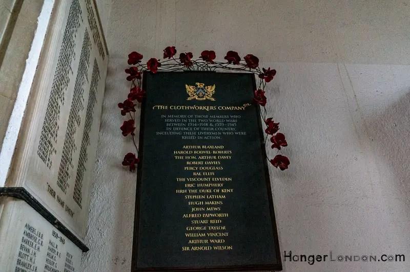 St Olave Remembrance