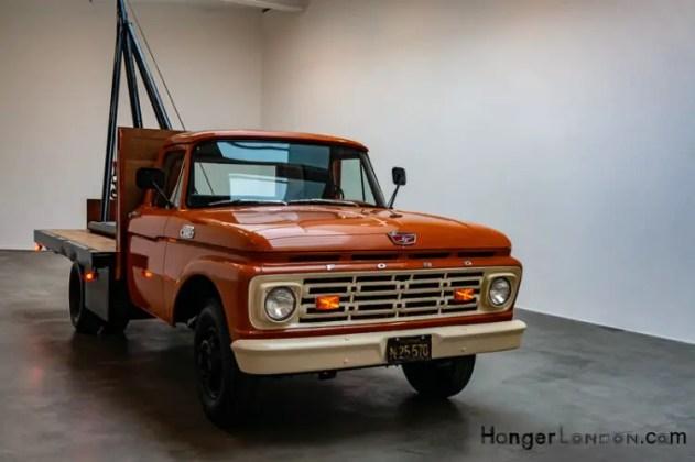 Chris Burden Pickup Truck
