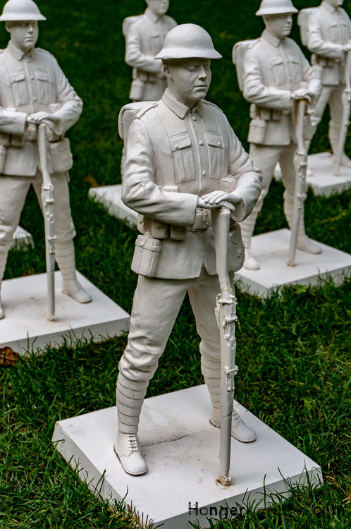 Soldier on Guard in Lost Armies at Jubilee Park