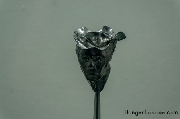 A grwoing metaltic flower in Life Blossoms Again Canada Place Mall -1 Art item 4