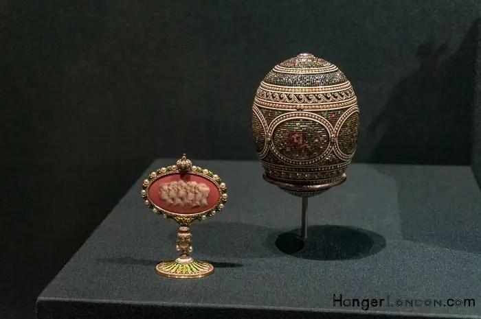 Mosaic Egg 1914 Fabergé Imperial Easter Egg Alma Phil