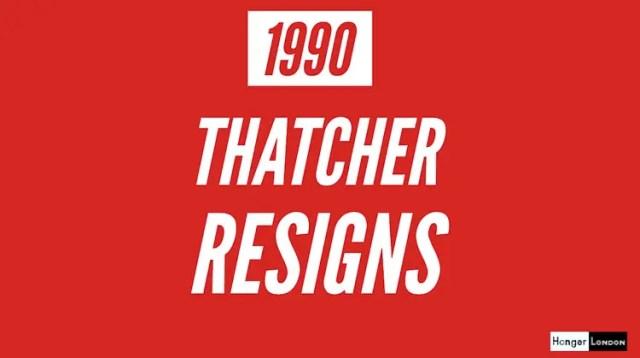 Thatcher Resigns