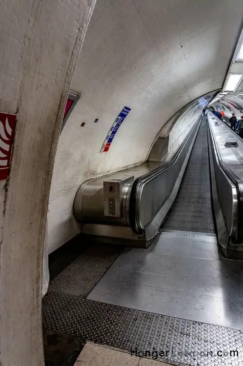 The Travolator Walbrook Bank underground station