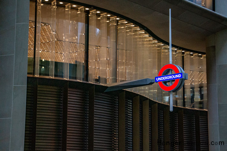 New Bank Station Walbrook entry exit