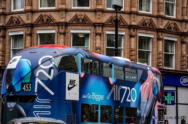 Nike Bus All Bus TFL Advert