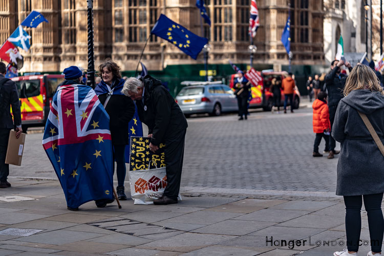 Brexit Culture flags and signs of our times 2