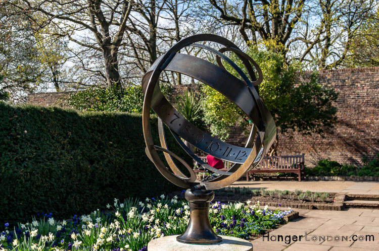 Type of Sundial Armillary Sphere Holland park sculpture