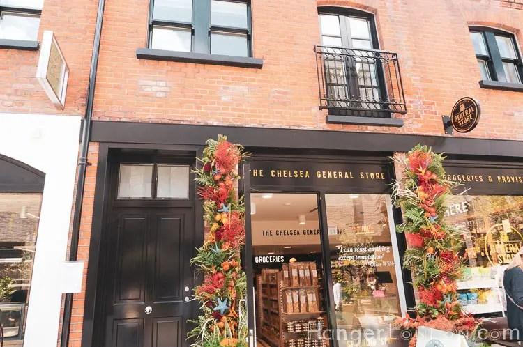 Chelsea General Store in bloom