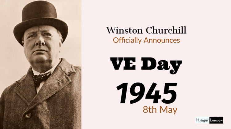 VE Day Victory in Europe on the 8th May
