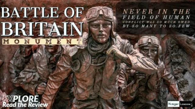 Battle of Britain Memorial 'The Few'