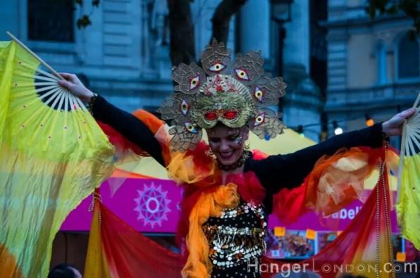 Dancer Trafalgar Diwali