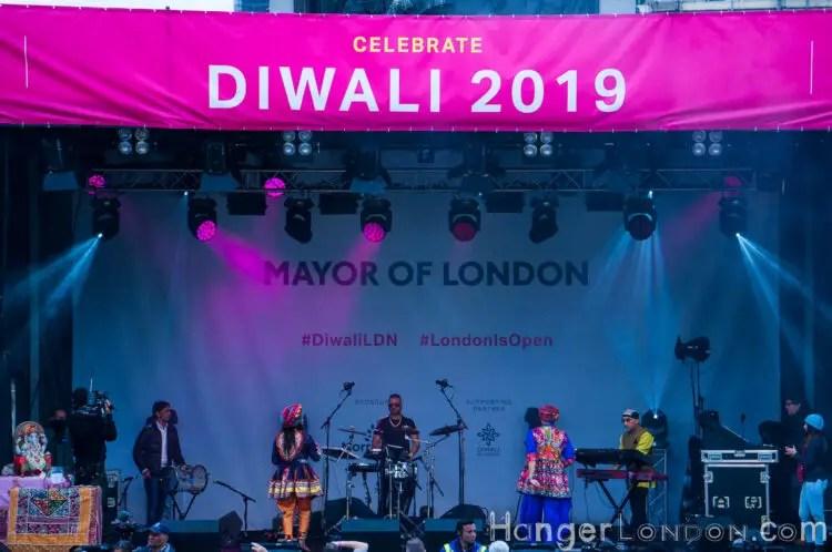 main statge at Diwali 2019 Londonisopen