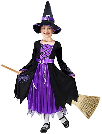 Twister.CK Kids Halloween Matched Witch Fancy Dress Costume Girls ( Toddler ) 1