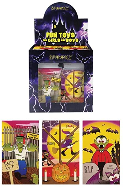 Henbrandt Mini Halloween Spooky Notebooks - PACK OF 24 1