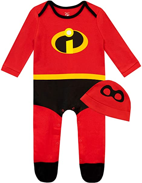 Disney Baby Boys Sleepsuit and Hat Set The Incredibles 1