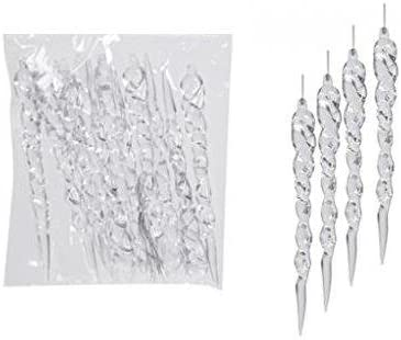 12 ICICLE CHRISTMAS TREE DECORATIONS 1