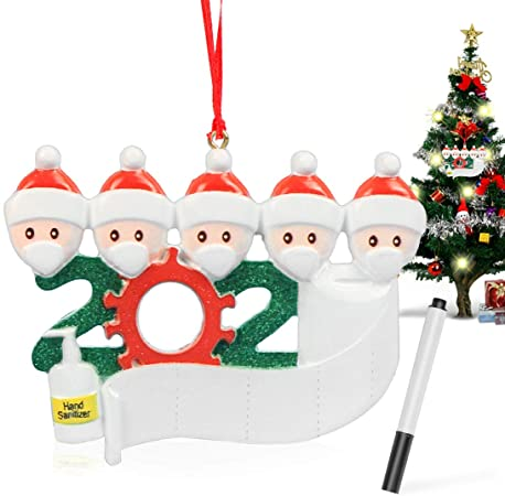 5 Christmas Hanging Ornaments 1