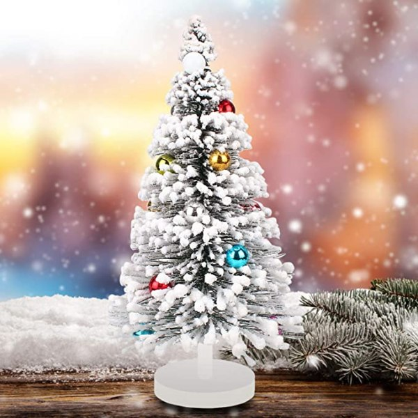 Miniature Christmas Tree, Mini Ornaments Tabletop 1