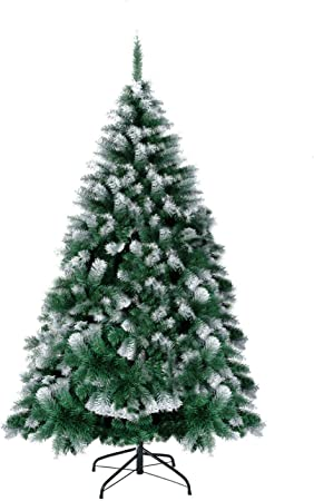7FT 1200Tips Artificial Tree with Foldable Metal Stand 1