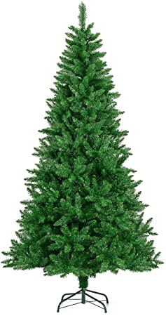 5ft Christmas Tree Traditional Green Pine With Stand 1