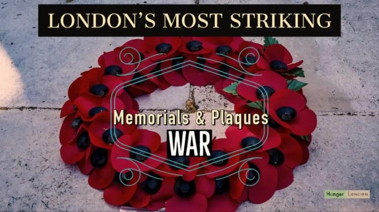 Londons greatest war memorials