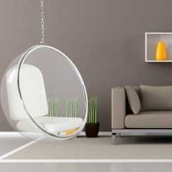 Floating Chair For Bedroom Modern Chairs Indoor Hanging Transparent Ball