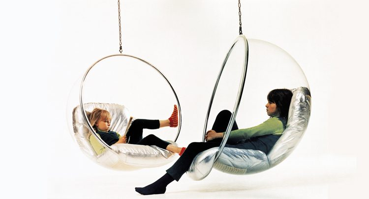 Hanging Bubble Chair  Minimalistic Style for Your Home