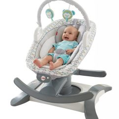 Swing Chair Baby Best Hickory End Tables For Newborn Reviews Hybrid The Glider And Bouncer