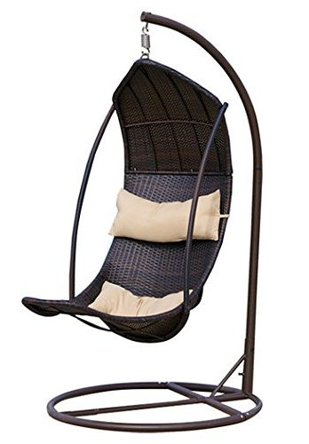 teardrop swing chair round table 6 chairs set review outdoor hanging lounger with stand wicker all wather
