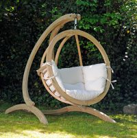 Hammock Chair With Wooden Stand