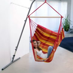 Hammock Chair With Stand Striped Slipper Hanging