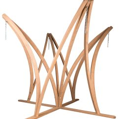 Chair Hammock Stand Plans Antique Oak Rocking Hanging With
