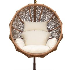 Outdoor Wicker Swing Chair Posture On Zolo With Stand By Ceets