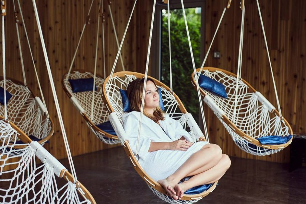 hanging chair bolt folding meijer swing your troubles away a is the relaxation tip n0 1 rope hammock with wooden frame