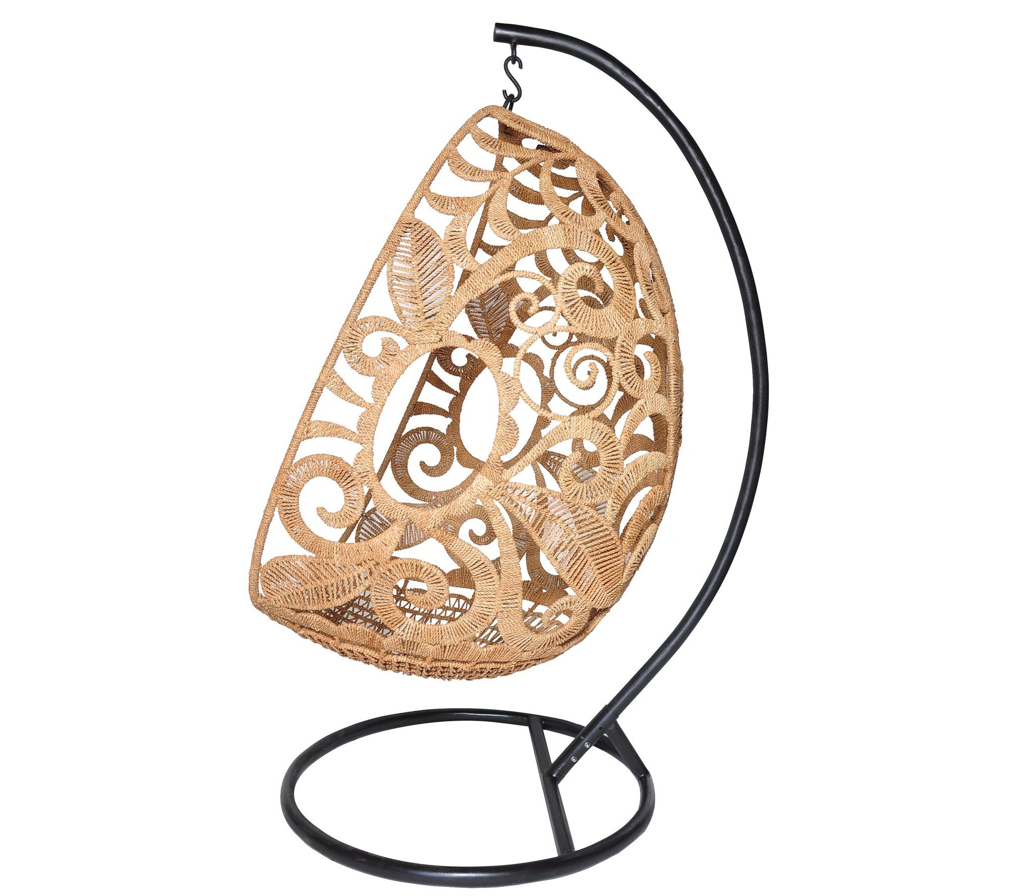 egg swing chair dining table outdoor hanging