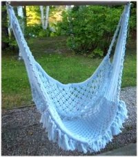 Boho Chic and Romantic: DIY Macrame Hammock Chair