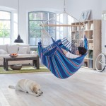 Review Cotton Hammock Chair Swing Lounger By La Siesta