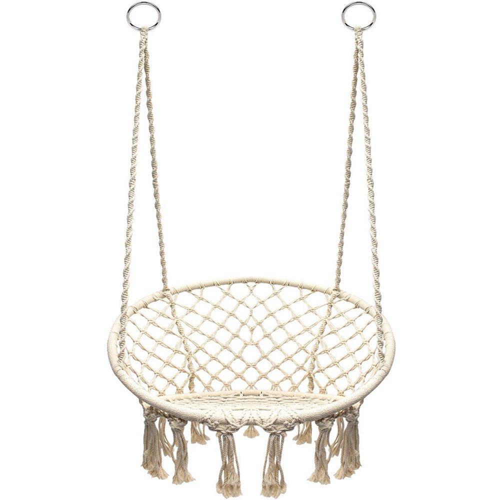 REVIEW Macrame Hammock Swing Chair by Sorbus