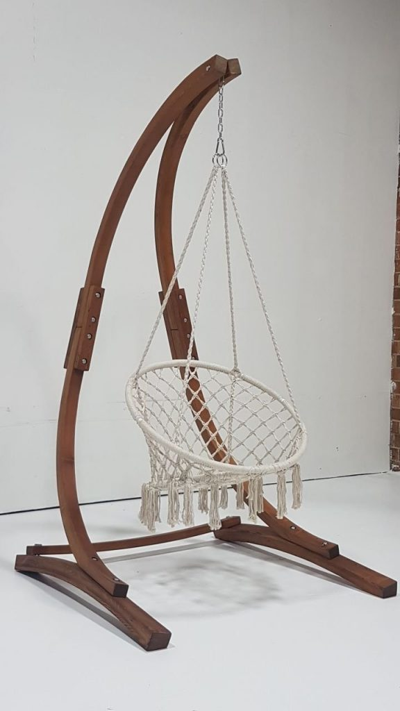 indoor hammock chair mission recliner review: macrame swing by sorbus